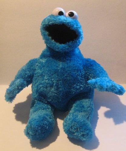 Sesame Street Cookie Monster Sitting Down 9in Bean Bag Plush Doll
