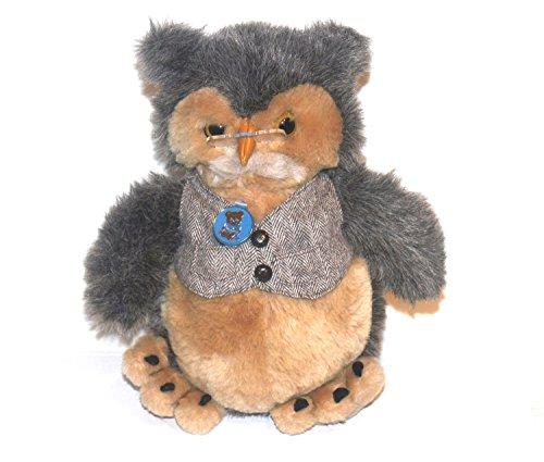 Vintage 1986 Dakin Stuffed Owl Wise Old Owl Dakin Owl