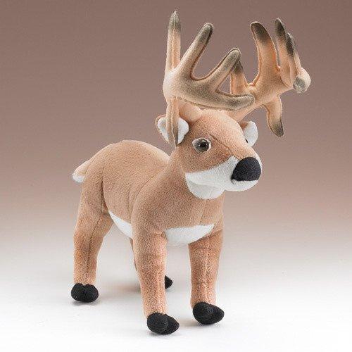 14 Whitetailed Deer Buck Plush Stuffed Animal Toy