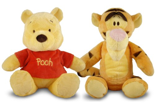 Kids Preferred Disney Winnie The Pooh Plush Set of 2 Winnie Tiger