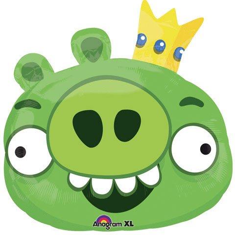 Angry Birds King Pig Mylar Balloon