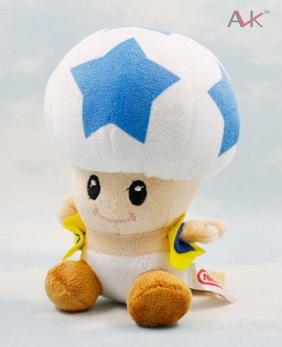 Super Mario Bros Mushroom 9 Inch Toddler Stuffed Plush Kids Toys ...