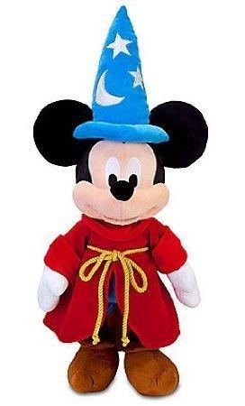 Disney Fantasia Sorcerer Mickey Mouse Plush Toy - 24 by Disney