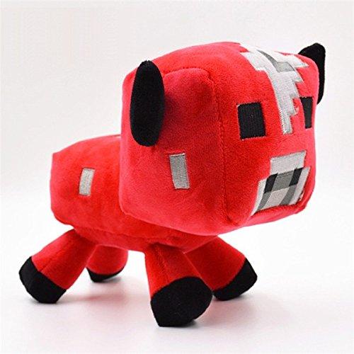 16 CM Red Mooshroom Mini Minecraft Plush Toys Doll