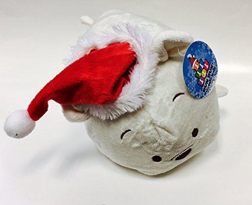 Bai Bai Christmas Polar Bear Bun Bun 11 Inches - Stackable Stuffed Animal by Bun Bun Special Holiday Edition