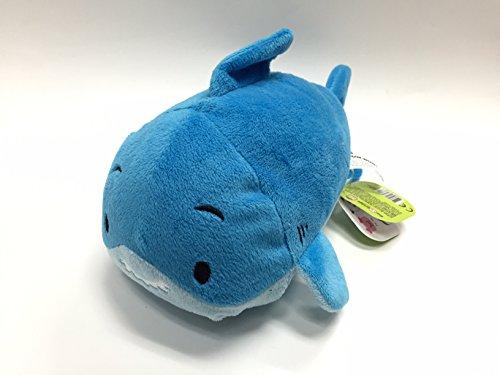 Fin Fin Dolphin Bun Bun 7 Inches - Stackable Stuffed Animal by Bun Bun