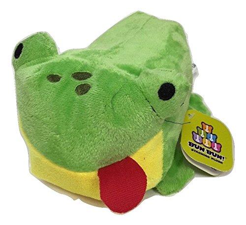 Fro Fro Frog Bun Bun 7 Inches - Stackable Stuffed Animal by Bun Bun