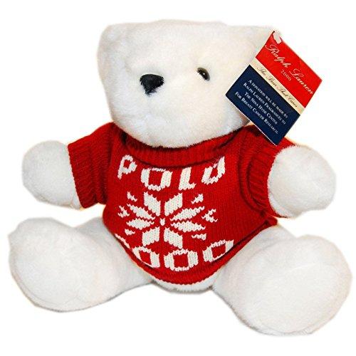 Polo Ralph Lauren Collection Year 2000 Christmas Teddy Bear