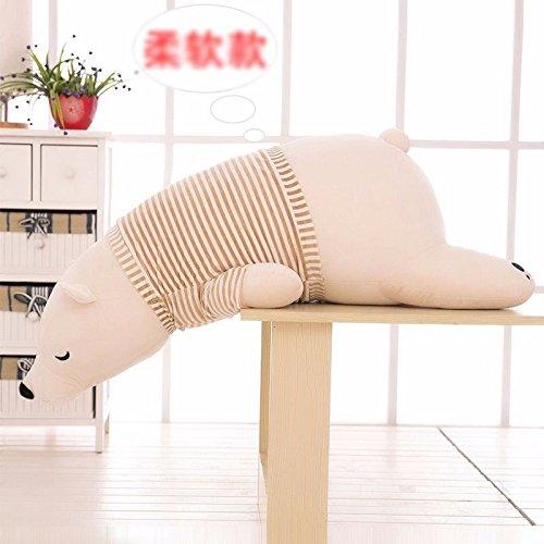 1Pcs 50CM Polar Bear Plush Toy Doll Creative Pillow Children Gift New