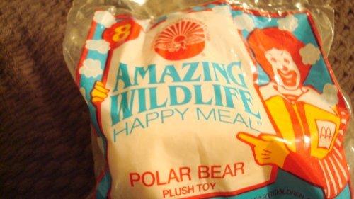 McDonalds Amazing Wildlife Polar Bear Plush Toy by McDonalds