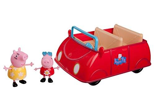 Peppa Pig Red Car Playset