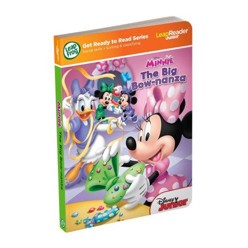 LeapFrog LeapReader Junior Book Disney Minnie Works with Tag Junior