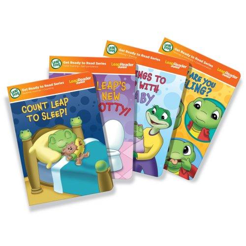 LeapFrog LeapReader Junior Toddler Milestones Book Set works with Tag Junior