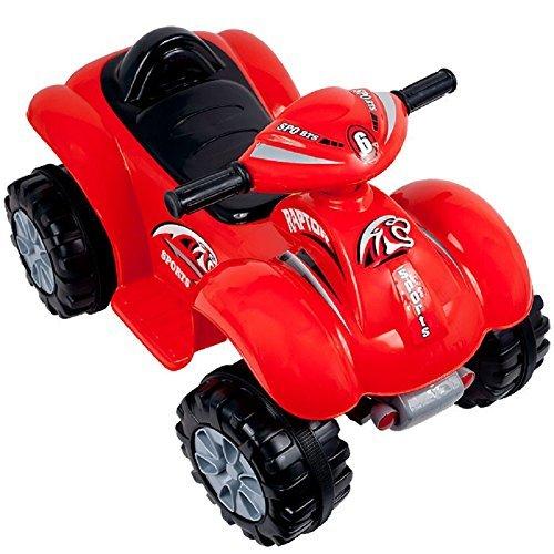 Trademark Global Rockin Rollers 6v Battery Powered Atv Battery Powered Kids Car