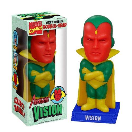 Funko Wacky Wobbler Marvel Comics Avengers Vision