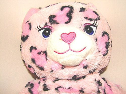 19 PINK LEOPARD CAT Princess Kitty says MEOW PRESS PAW Build a Bear Workshop Stuffed Animal Interactive Talking Toy