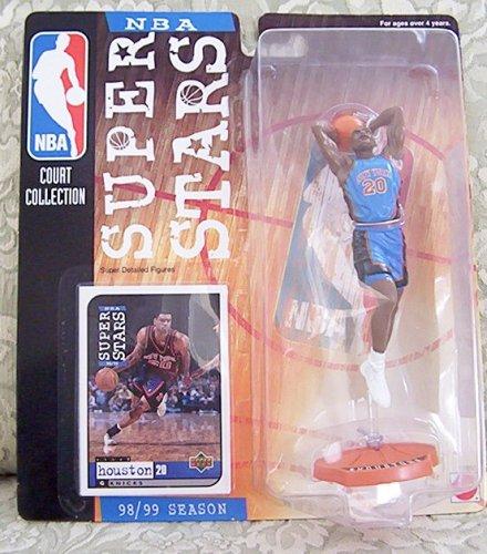 1998-99 NBA Super Stars Figure - Allan Houston - New York Knicks