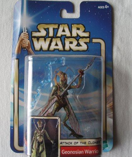 Star Wars Episode 2 Geonosian Warrior With Backdrop Action Figure