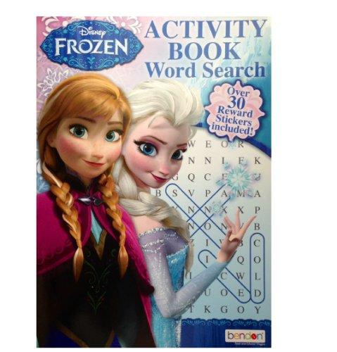 Disney Frozen Activity book Word Search
