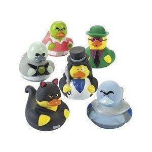Fun Express Villain Duckies Duckys Villain Rubber Ducks 12 Count