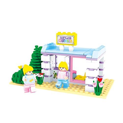 110 PCS Girls Building Blocks for Preschoolers