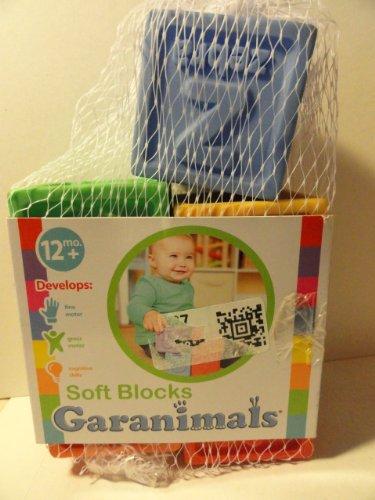 Soft Blocks Garanimals Partial Package - You Get 5 Blocks