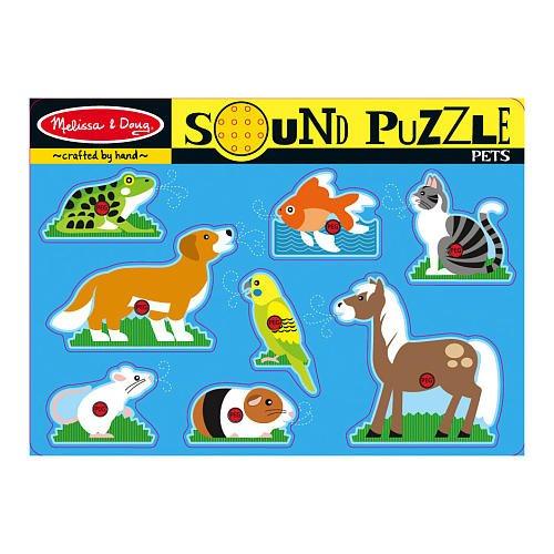 Home to Deals - Sound Puzzle - Pets - Melissa Doug