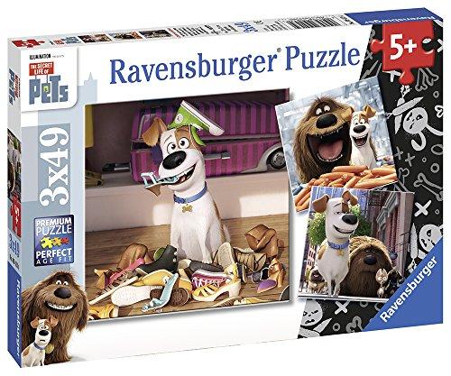 Ravensburger The Secret Life of Pets 3 Pack Puzzle 49 Piece
