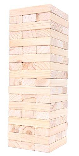Redwood Games Jumbo Tumbling Tower Set 54 Wooden Blocks Extra Large