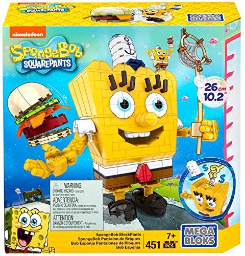 Mega Bloks SpongeBob SquarePants Block Construction Set
