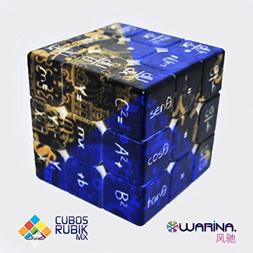 Cube Warina 3X3X3 Math Cube UV Printing