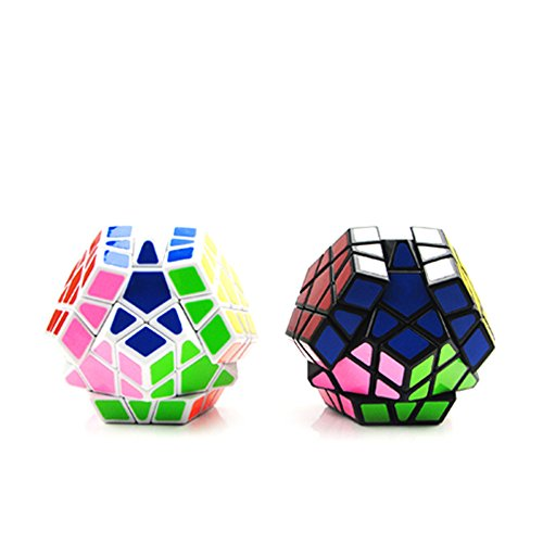 Yicat 12 Faces Shaped Sticker Megaminx Educational Toys Dedicated Professional Game Rubiks Cube