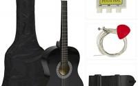 38-Black-Acoustic-Guitar-Starter-Package-Guitar-Gig-Bag-Strap-Pick-0.jpg