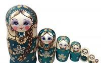 Leegoal-New-7pcs-Wooden-Russian-Nesting-Dolls-Braid-Girl-Dolls-Traditional-Matryoshka-Wishing-Dolls-Gift-Green-31.jpg